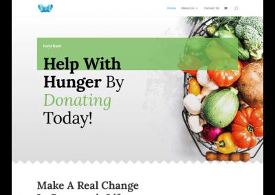 Food Bank Sample Website